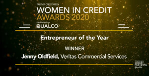 Women in Credit Entrepreneur of the Year Award Logo